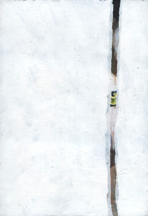 EL LEÓN MATA MIRANDO Técnica: acrílico sobre cartón Dimensiones: 21cm X 29,70cm